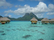 Relaxing at the Hotel - Bora Bora